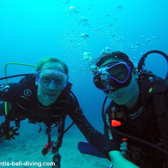 DAVID ROBINSON - HIS EXPERIENCE AT DUNE - ATLANTIS INTERNATIONAL BALI | Atlantis Bali Diving
