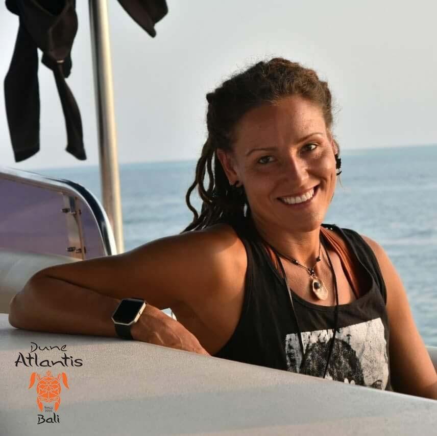 Meet Iina Ester, The New Padi Certified Dive Master | Atlantis Bali Diving