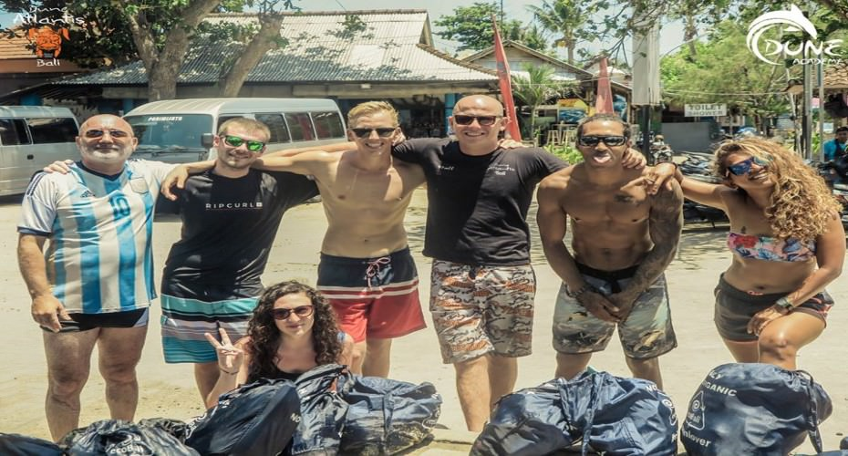 Beach And Ocean Clean Up In Sanur | Atlantis Bali Diving