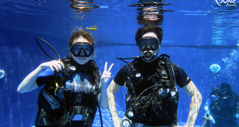 Beginner scuba diving course | Atlantis Bali Diving