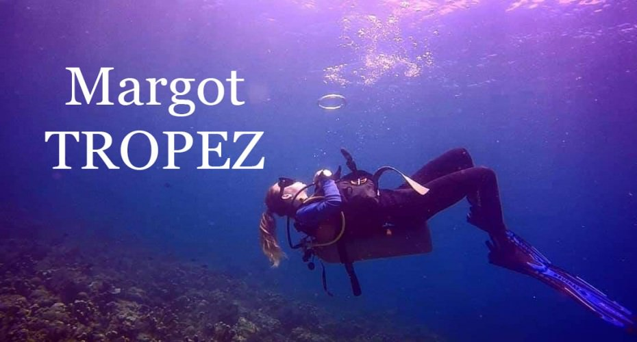 Meet Margot Tropez From The South Of France. | Atlantis Bali Diving