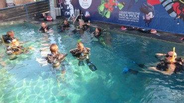 IDC + FULL MSDT INTERNSHIP | ATLANTIS BALI DIVING