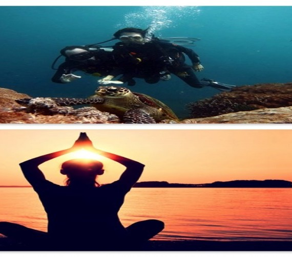 Scuba Diving And Yoga And Connection Between The Two   Atlantis Bali Diving