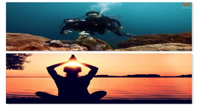 Scuba Diving And Yoga And Connection Between The Two | Atlantis Bali Diving