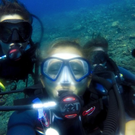 Try Diving Of Our Interns In Tulamben | Atlantis Bali Diving