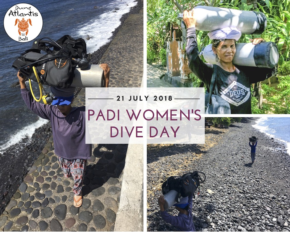 Women's Dive Day | Atlantis Bali Diving