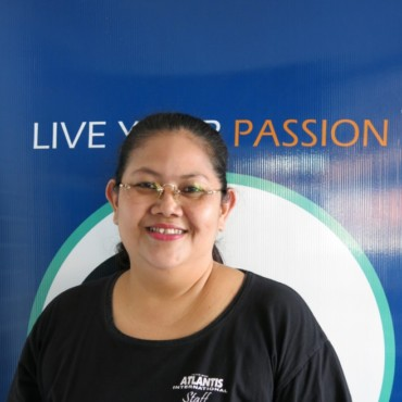 Eveline - Administration & Accounting | Atlantis Bali Diving