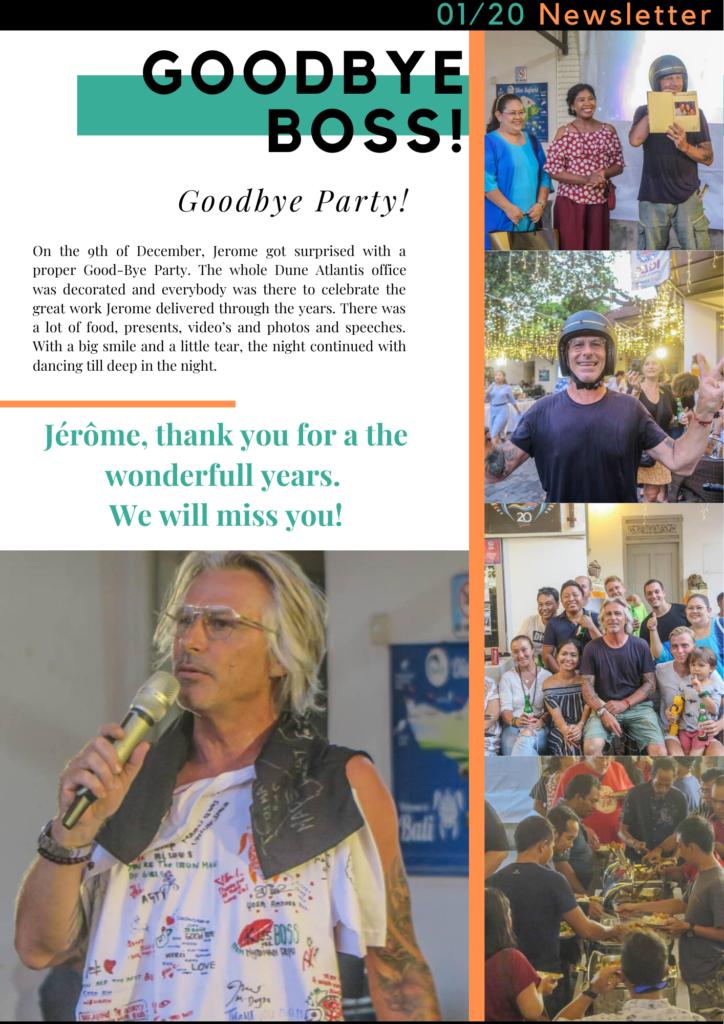 GOODBYE BOSS ! - Goodbye party | Atlantis Bali Diving