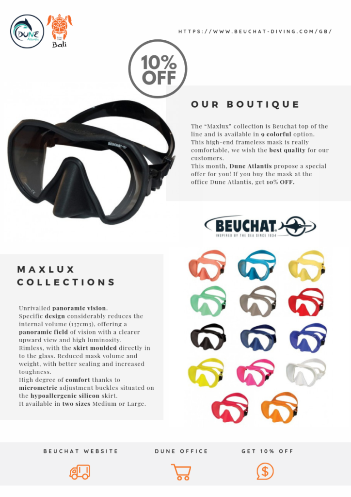 High performance mask, 10% Off from Maxlux Collections