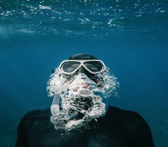 High performance mask at Atlantis Bali Diving