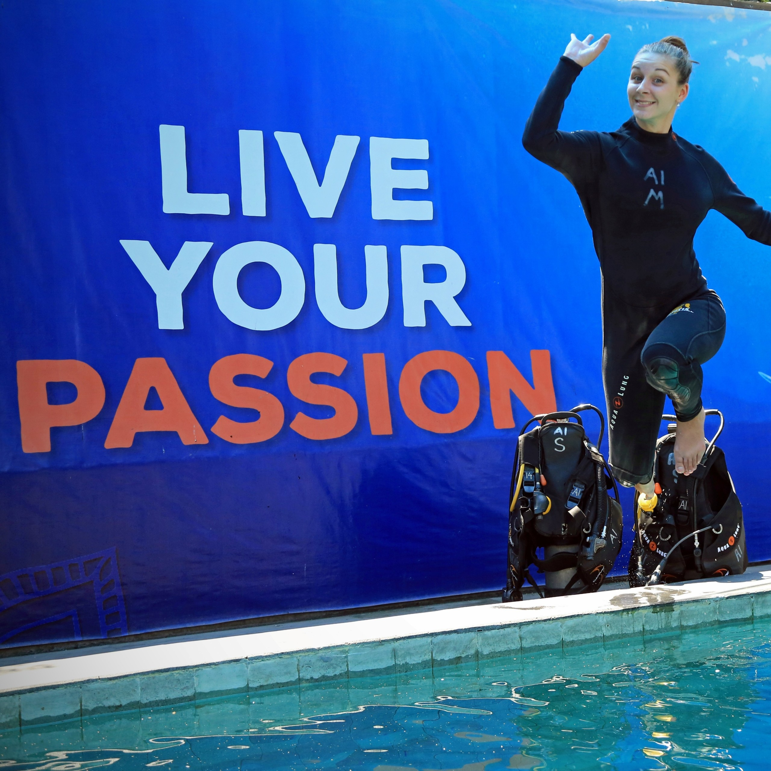 Live your passion - dive course | Atlantis Bali Diving