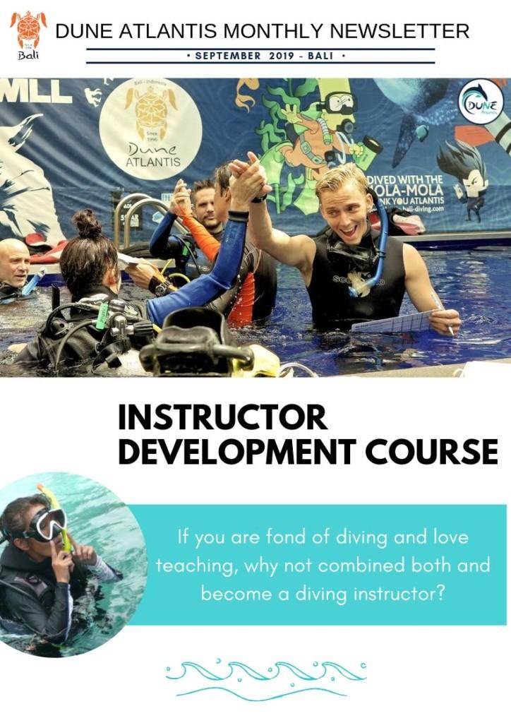 Newsletter September - join us to do your IDC | Atlantis Bali Diving