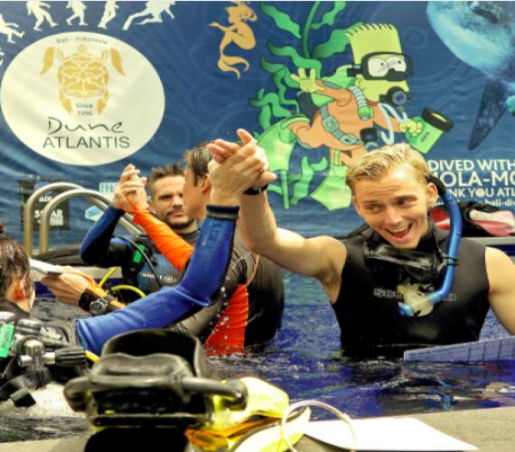 Newsletter September - IDC Course   Atlantis Bali Diving
