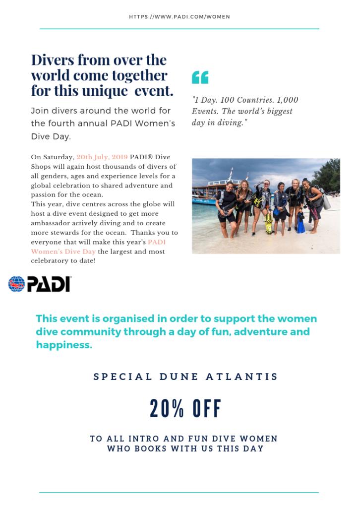 Fine Dive Woman | Atlantis Bali Diving