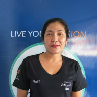 Sri - Administration & Accounting | Atlantis Bali Diving