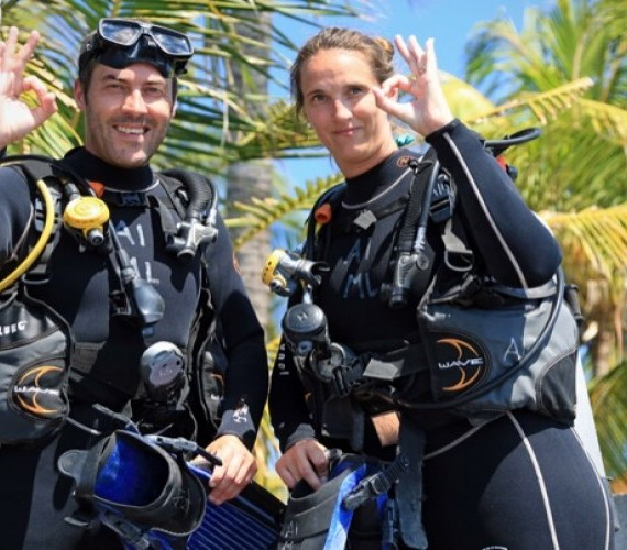 Try diving experience with Atlantis Bali Diving