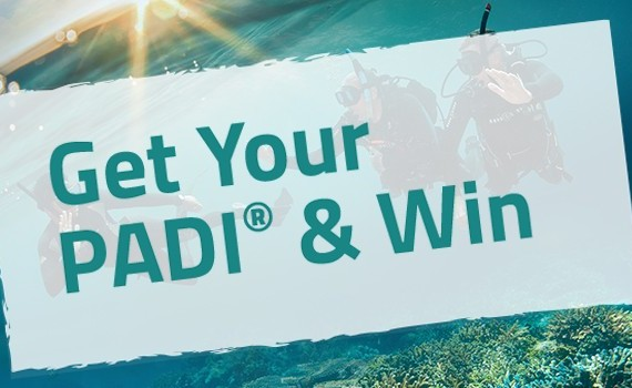 Get Your PADI & Win | Atlantis Bali Diving