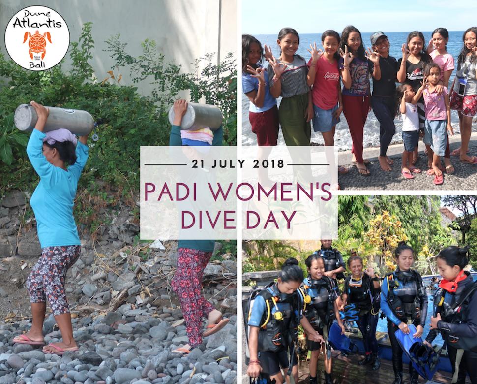 PADI Women's Day | Atlantis Bali Diving
