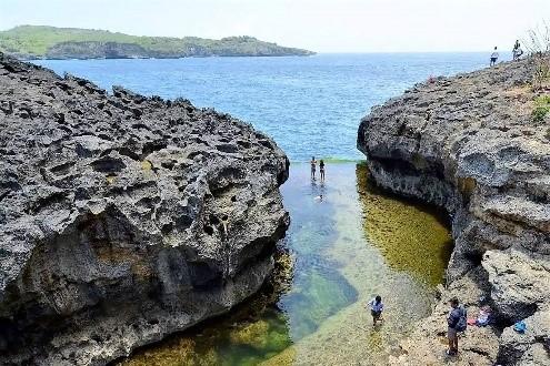 A Billabong beach | Atlantis Bali Diving