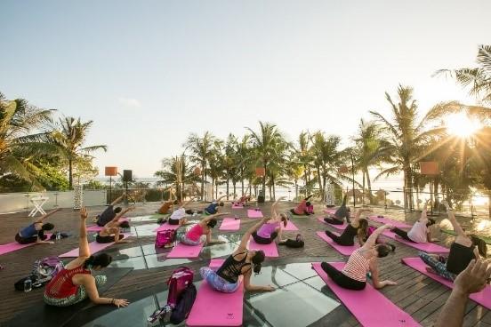 Yoga in Bali | Atlantis Bali Diving