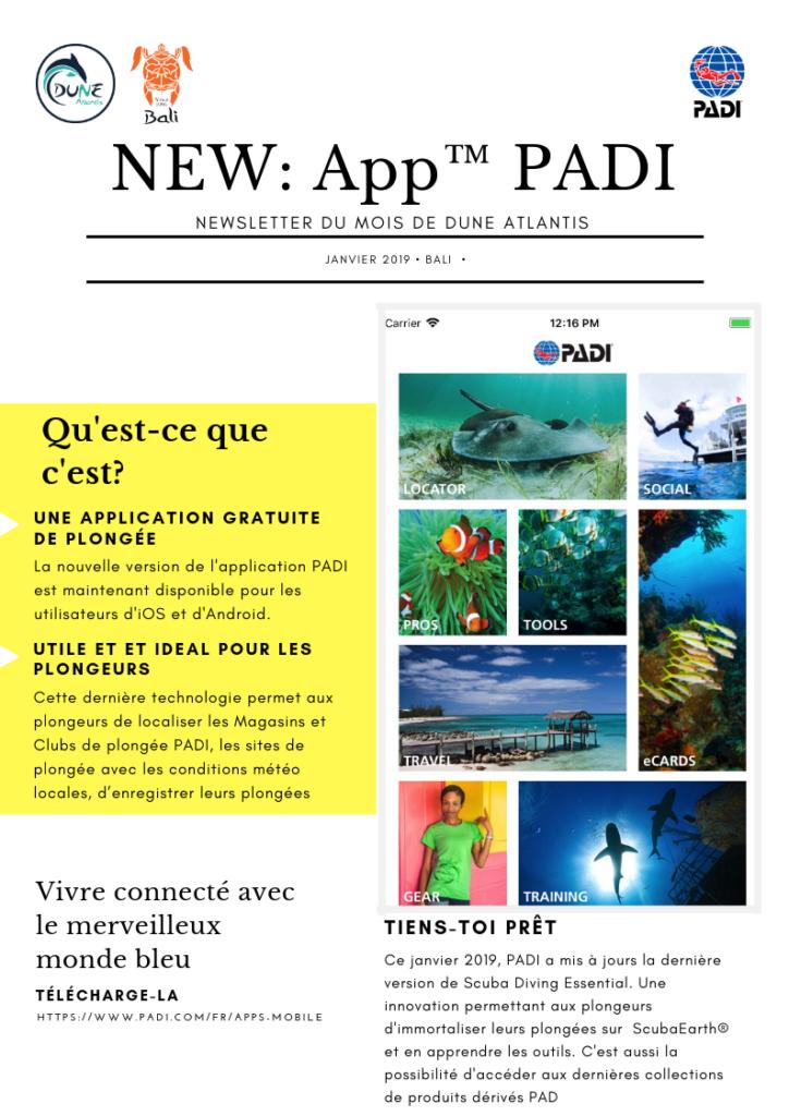 New: App PADI   Atlantis Bali Diving