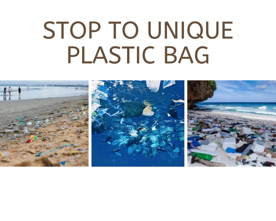 Stop Plastic   Atlantis Bali Diving